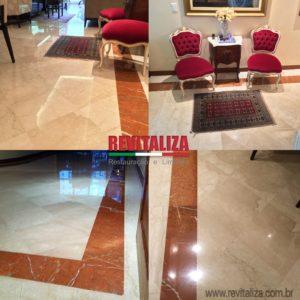 Revitaliza piso marmore