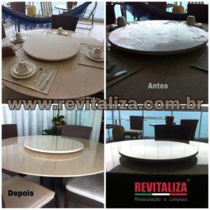 mesa marmore revitalização